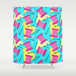 Memphis Sewing - Brights Shower Curtain