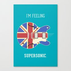 Supersonic Canvas Print