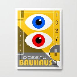Bauhaus Exhibition Poster IV Metal Print