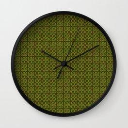 Adinkra Prudence Wall Clock