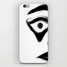 WEIRD FACE iPhone & iPod Skin