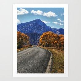 Back Roads Art Print