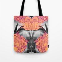 geode Tote Bags featuring Geode 6 by michiko_design