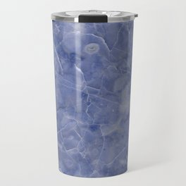 Maura Azzurro blue marble Travel Mug
