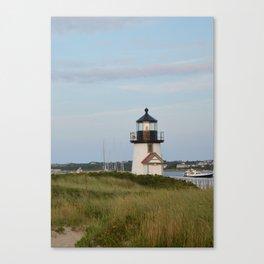 Nantucket Lighthouse Canvas Print