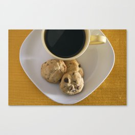 Cookies and Coffee Canvas Print