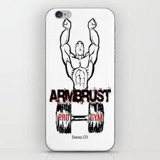 ARM BRUST PRO GYM iPhone & iPod Skin