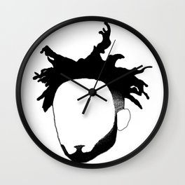 Amine Outline Wall Clock