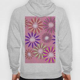 PINK floral healing Hoody