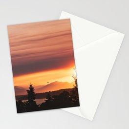 Smoky Sunset Stationery Cards