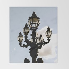 Lamp Post Throw Blanket