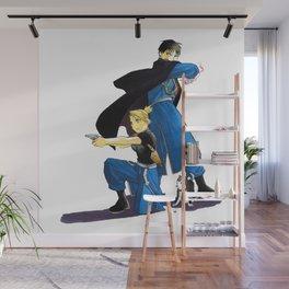 Fullmetal Alchemist - Roy & Riza Wall Mural