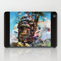 chihiro iPad Cases featuring howl's moving castle by ururuty