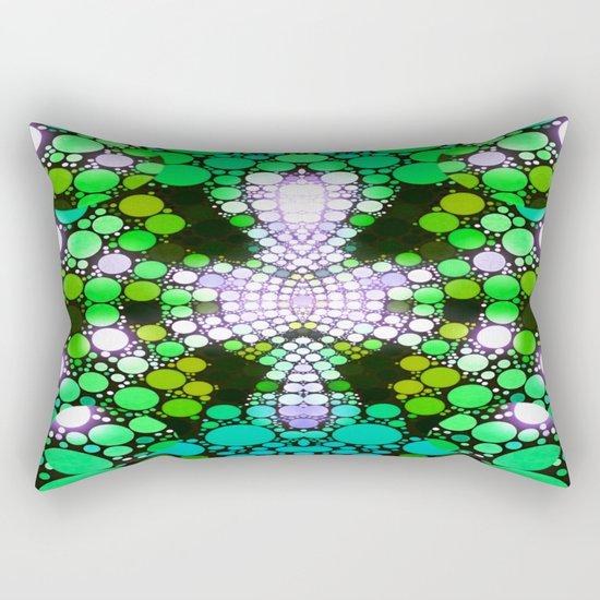 NEON NIGHTS II Rectangular Pillow