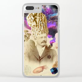 Odd Detective Clear iPhone Case