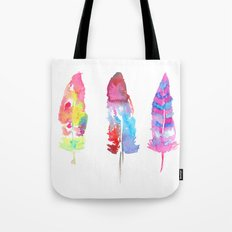 DANCING WITH FEATHERS  Tote Bag