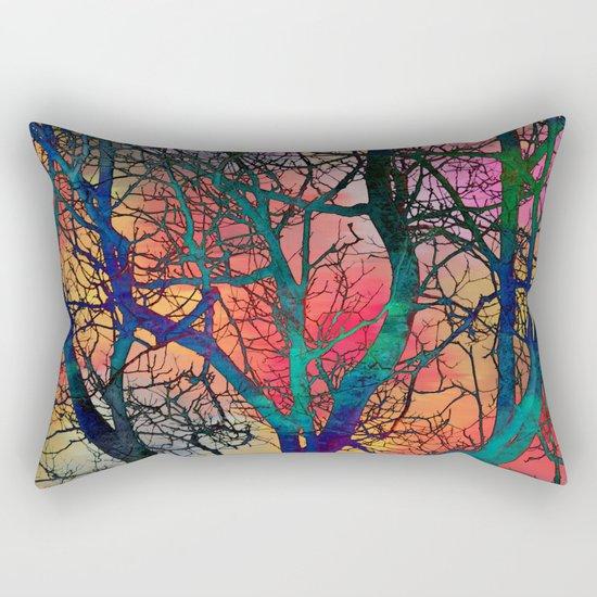 Dreamy Sunset Rectangular Pillow