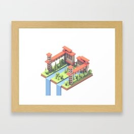 Riverside Framed Art Print
