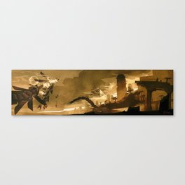 The War Canvas Print