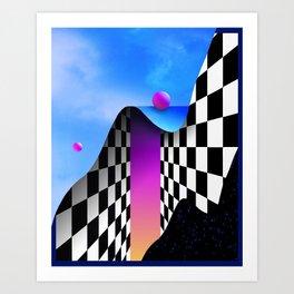 MELANCHOLYYY______UTOPIA Art Print