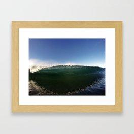 Down in Front Framed Art Print