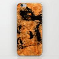 einstein iPhone & iPod Skins featuring EINSTEIN by DeMoose_Art