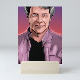Rockstar Jon Bon Jovi Mini Art Print