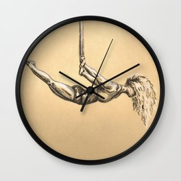 The Strength to Float Wall Clock