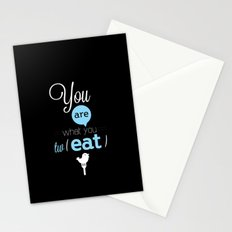 You are what you twEAT Stationery Cards
