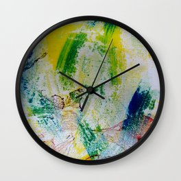 The bird and the butterfly Wall Clock