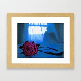 LE POET II Framed Art Print