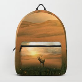 The deer into the lights Backpack