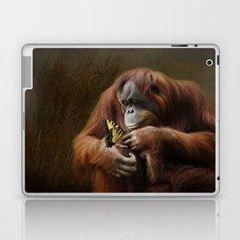 Orangutan and Butterfly Laptop & iPad Skin