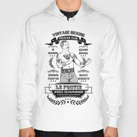 boxing Hoodies featuring Vintage Boxing by T-SIR | Oscar Postigo