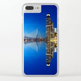 Rotterdam Sunset Clear iPhone Case