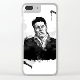 Twin Peaks - Agent Cooper Clear iPhone Case