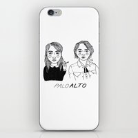 cactei iPhone & iPod Skins featuring Palo Alto by ☿ cactei ☿