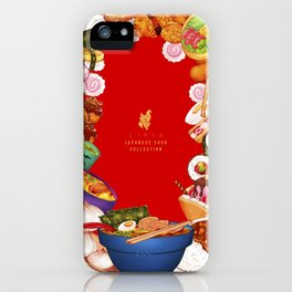 Japanese Food Collection iPhone Case