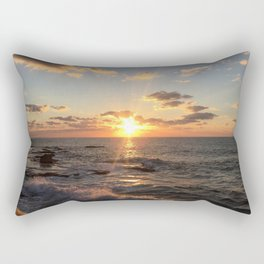 Mediterranean Sunset (Joppa) Rectangular Pillow