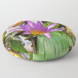 Purple Lotus Floor Pillow
