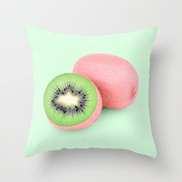 PINKIWI Throw Pillow