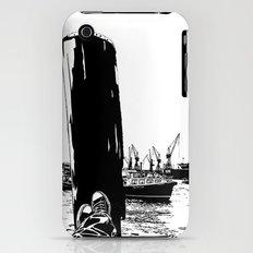 hamburg fischmarkt iPhone (3g, 3gs) Slim Case