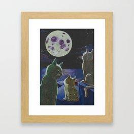 Moon Hope Framed Art Print