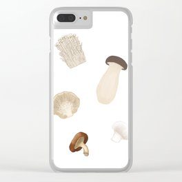 Mushies Clear iPhone Case