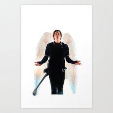 PKT (Painkiller Tom) - Blink 182/Angels and Airwaves: Tom Delonge Art Print
