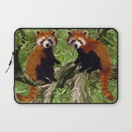 Frolicking Red Pandas Laptop Sleeve