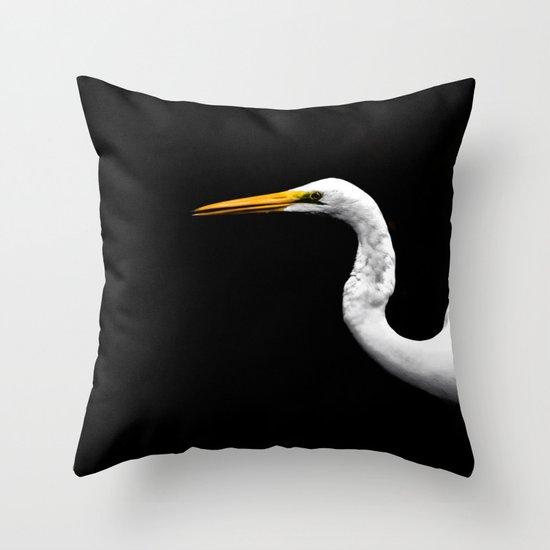 Heron#1 Throw Pillow