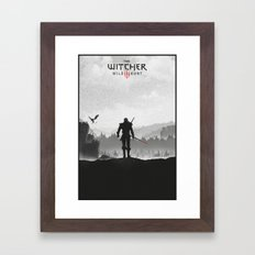 The Witcher: Wild Hunt Framed Art Print