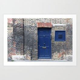 Westminster door 1 Art Print