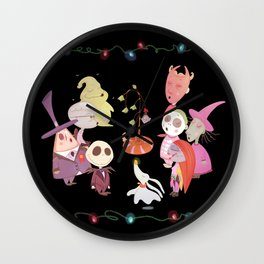 It's A Very Nightmare Before Christmas Jack Skellington! Wall Clock
